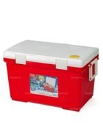 Термобокс IRIS Cooler Box CL-45, 45 литров, красный/белый