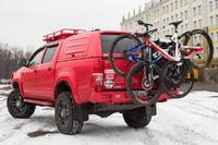 Велобагажник РИФ в квадрат для фаркопа на 3 велосипеда