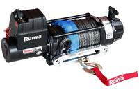 Лебёдка электрическая 12V Runva 12500 lbs 5720 кг (влагозащищенная) синтетический трос