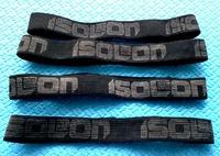 Утяжка из эластичной ленты для туристических ковров ISOLON 15 мм. черный