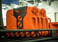 Крепление для 2-х канистр 20 л на багажник АВС-Дизайн