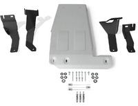 Защита картера Jeep Wrangler JL  V-2.0T; 3,6 (2018-), Алюминий 4 мм, Rival