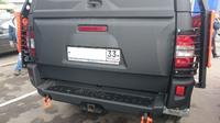 Дверь задняя с органайзером и стоп-сигналом АВС-Дизайн  УАЗ Патриот пикап 2010+