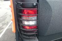 Защита задних фонарей АВС-Дизайн для УАЗ Пикап 2015+ (2 шт.)