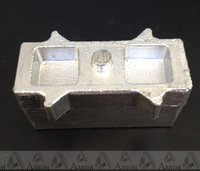 Проставка рессора-мост УАЗ Буханка 60х45х120 мм алюминий