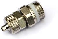 Соединение 6/4-1/4 под гибкую трубку с упл.кольцом