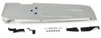 Защита топливного бака  Jeep Wrangler JL (2 двери)  V-2.0T; 3,6; 2,2D (2018-), Алюминий 4 мм, Rival