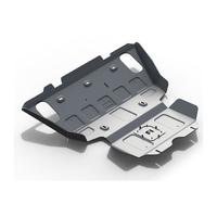 Защита картера и радиатора Toyota Hilux 2007-2014 2.5D, 3.0D, алюминий 6 мм