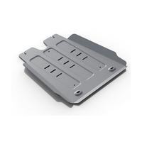 Защита КПП алюминий 6 мм Toyota Hilux, V - 2.5D, 3.0D (2007-2015)
