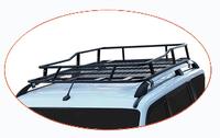 Экспедиционный багажник с креплением на рейлинги, с сеткой, для УАЗ Патриот