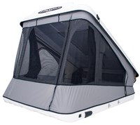 Палатка на крышу автомобиля Space Evo белая 140х198 см