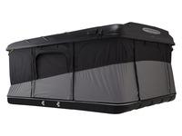 Палатка на крышу автомобиля Evasion Evo XXL черная 160х224 см