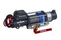 Лебёдка электрическая двухскоростная 12V Runva 10000 lbs 4500 кг (синтетический трос)