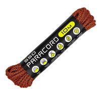 Паракорд 550 CORD nylon 10м (neon orange snake)