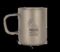 Термокружка титановая Kovea NZ Ti Double Wall Mug 450 мл.