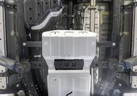 Защита РК алюминий 6 мм Toyota Fortuner, V - 2.7, 2.8D, 4WD (2017+)/ Toyota Hilux (15+) Euro 6