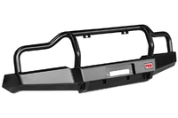 Бампер РИФ передний УАЗ Буханка усиленный, c площ.  под лебёдку, с низкой защитной дугой, лифт 65 мм