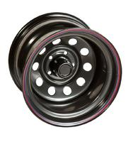 Диск усиленный УАЗ стальной черный 5x139,7 12xR16 d110 ET-55