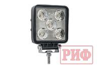 Фара светодиодная рабочего света РИФ 110 мм 15W