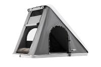 Палатка на крышу автомобиля AUTOHOME COLUMBUS VARIANT SMALL, тент серый, лестница 215 мм