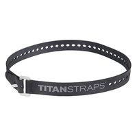 Ремень крепёжный TitanStraps Industrial черный L = 76 см (Dmax = 22,6 см, Dmin = 5,5 см)