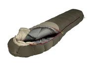 Мешок спальный ALEXIKA Aleut Compact, туристический, для низких температур, малой длины, oliv,правый