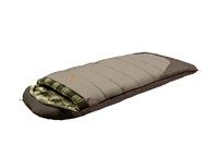 Мешок спальный кемпинговый ALEXIKA SIBERIA Wide Plus (одеяло) оливковый, правый