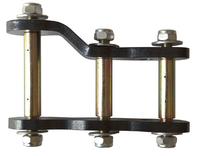 Серьга Telawei задней рессоры удлиненная и усиленная Nissan Navara D40