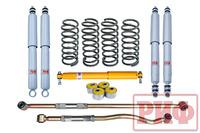 Лифт-комплект РИФ Gas для Toyota Land Cruiser 80/105 лифт 50 мм мягкий