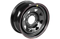 Диск УАЗ стальной черный 5x139,7 7xR16 d110 ET+25 (треуг. мелкий)