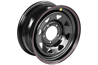Диск усиленный УАЗ стальной черный 5x139,7 7xR16 d110 ET+25 (треуг. мелкий)