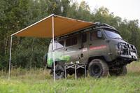 Маркиза автомобильная РИФ 3х2 м