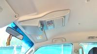 Консоль потолочная для установки р/c Mitsubishi Pajero IV, вырез под р/c 140х40 мм, серая