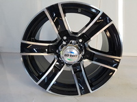 Диск УАЗ литой черный 5x139,7 8xR16 d110 ET+15