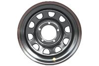 Диск усиленный УАЗ стальной черный 5x139,7 8xR16 d110 ET-19
