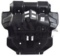 Защита картера двигателя и радиатора Toyota Hilux 2015+ (композит 10 мм)