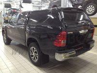 Крыша (кунг) кузова для Toyota Hilux 2015+ (двойная кабина) чёрная