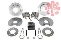 Задние дисковые тормоза (комплект) Lucas Lada 4x4 Нива, Chevrolet Niva (все г.в)