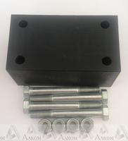 Проставка рессора-рама под серьгу УАЗ 40 мм капролон (с крепежом)