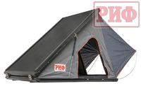 Палатка на крышу автомобиля РИФ Hard RT05-130, корпус алюминий, тент серый
