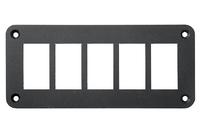 Панель кнопок монтажная пять отверстий
