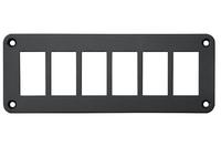 Панель кнопок монтажная шесть отверстий