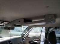 Консоль потолочная для установки р/c УАЗ Патриот 2019, вырез под р/c 140х40 мм,с карманом, серая