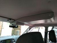 Консоль потолочная для установки р/c УАЗ Патриот 2019, без выреза под р/с, без кармана, серая (ЭК)