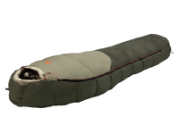 Мешок спальный ALEXIKA Aleut Compact, туристический, для низких температур, малой длины, oliv, левый