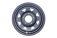 Диск усиленный ВАЗ НИВА стальной черный 5x139,7 7xR15 d98,5 ET+25 (треуг.)