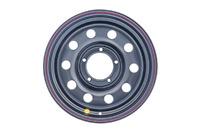 Диск усиленный УАЗ стальной черный 5x139,7 7xR16 d110 ET+25