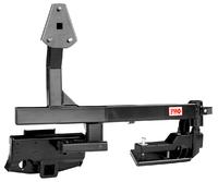 Калитка РИФ с квадратом под фаркоп в штатный задний бампер Toyota Land Cruiser 200 (под штатн. диск)