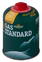 Баллон газовый резьбовой TOURIST STANDARD для портативных приборов 450 г.