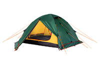 Палатка Alexika RONDO 2 Plus, 340x210x100 см. Зеленый